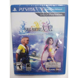 Ff X / X2 Remaster.-ps Vita