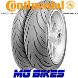Cubiertas Continental Motion 190/50-17 120/70-17 Mg