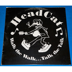 Headcat - Walk The Walk Lp Lacrado Motorhead Stray Cats