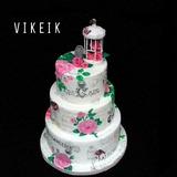 Tortas Pintadas Y Decoradas Cumpleaños,bodas,infantiles Etc.