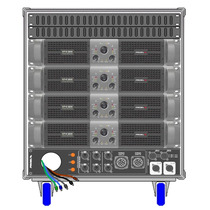 Amplificadores Proel Rack Line Array Axracks3