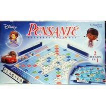 Pensante Juego De Mesa Niños Marca Toyco Scrabble