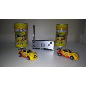 Mini Carro Rádio Controle Remoto Na Lata Envio Frete Grátis