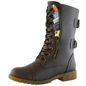 Zapato De Tobillo De Combate Militar Dailyshoes Para Mujer,