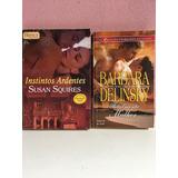 Livros Institutos Ardentes E Totalmente Mulher Barbara Delin