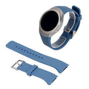 Tx De Silicona Reloj Pulsera Correa Para... (steelblue)