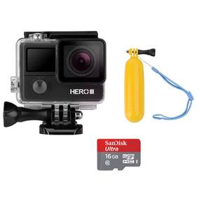 Câmera Goal Pro Hero 3 Wi-fi Hd + Cartão 16gb + Bastão Bóia