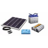 Kit Panel Solar De Emergencia 300w Inv. 100% Renovable