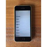 Iphone 5c 8gb Amarelo Usado Desbloqueado Em Ótimo Estado