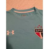 Camisa Under Armour São Paulo Fc Goleiro Tamanho Xxl Azul 731203ad8f4cb