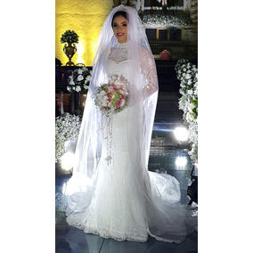 Vestido De Noiva, Renascença Artesanal Brilhantes Swarovski