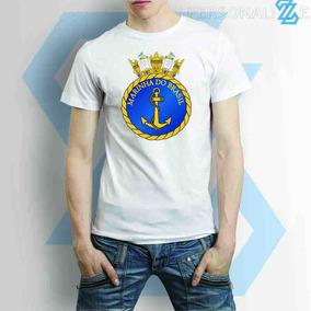 Camiseta Marinha Do Brasil Masculina Ou Feminina