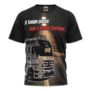 Camiseta Camisa Caminhoneiro Do Brasil Pe Na Estrada Blusa 2