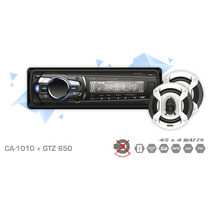Auto Stereo X-view Ca-1010 + Parlantes 6x5 Coaxiales Sin Cd