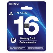 Cartão Memória 16 Gb Original Sony Vita Psvita Memory Card