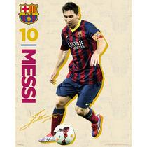 Póster De Messi Barcelona 40x50cm