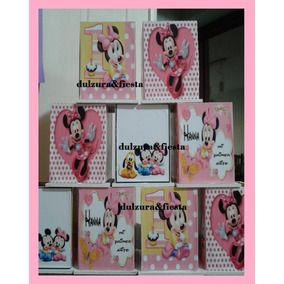Souvenirs Frutillita Pepa Pig Minni Mickey Mouse Lapiceros