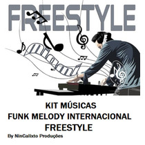 Kit 200 Músicas Funk Melody Internacional