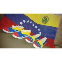 Zapatos Venezuela Tricolor