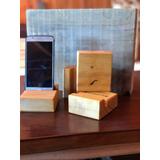 Soporte De Madera Para Celular/iphone/ipad