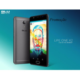 Blu Life One X2 Dualsim Lte Tela5.2 Hd 64gb/4gb Câm16mp/8mp