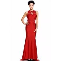Sexy Elegante Vestido Largo Noche Fiesta Encaje 60639