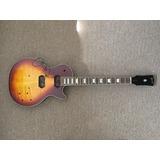 Guitarra Estilo Les Paul, Proyecto Luthier No Acabado.