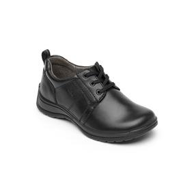 Calzado Zapato Escolar Flexi 57901 Negro Juvenil