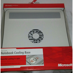 Fan Cooler Base Para Laptop Microsoft Color Blanco