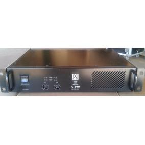 Amplificador De Potência Machine Vox A500