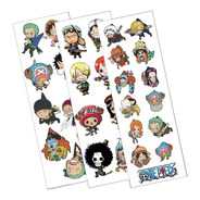 Plancha De Stickers De Anime De One Piece Nami Luffy Zoro