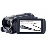 Canon Vixia Hf R50 Entrada Mic Externo Memoria 32gb Wi Fi Sd