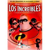 Dvd Los Increibles Disney Pixar Español Ingles Nuevo 2discos