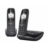 Teléfono Inalámbrico Gigaset As405a Duo Con Contestador Mkm