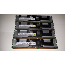 Kit 16gb (4x4gb) Ddr2 Fb-dimm Pc5300 Ecc Servidor Ou Mac Pro