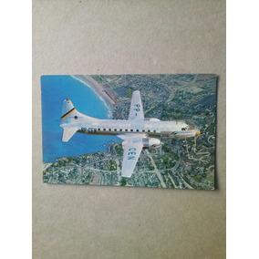 Cartao Postal - Cruzeiro Do Sul / Aviao Convair 440