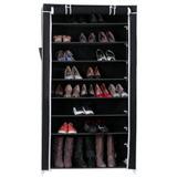 Armario De Zapatos Organiza 45 Pares 9 Niveles 160x88x29 Cm