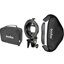 Softbox Godox Caja Suavizadora 60x60 Con Base Para Speedlite