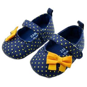 Sapatinho De Bebê Zara Importado Menina - Frete Grátis