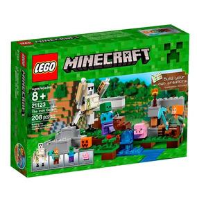 Brinquedos Menina Meninos 21123 Lego Minecraft 208 Peças