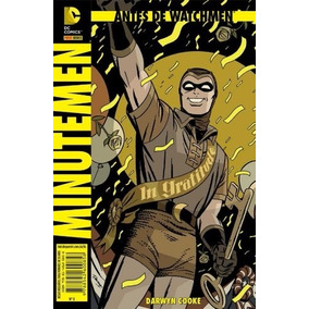 Antes De Watchmen - Minutemen - Novo E Lacrado!!!