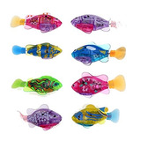 Eshion Flashy Electronic Pets Toy Robot Fish (1 Unidad)