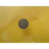Moneda Antigua 5 Centavos 1961 Plata De Guatemala