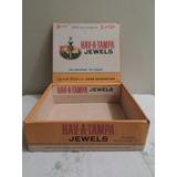 Caja De Tabaco Hav-a-tampa Jewels Vintage De Colección