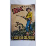 Tex 1 - O Signo Da Serpente - 1ª Edição