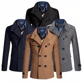 Sacos Abrigos Winter Military Slim Fit Coat Moda Envio Grati