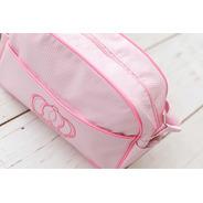 Bolsa Mala Maternidade Para Bebe Reborn Luxo Rosa - Meu Xodó