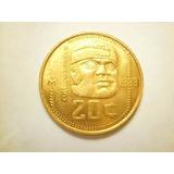 Moneda 20 Centavos Cultura Olmeca 1983 Bronce Envió Gratis