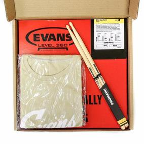 Kit Evans Pele Hd Dry 14+ Res. Hazy 14 + Baqueta 5a + Camisa