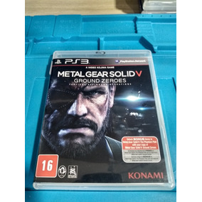 Jogo Seminovo Metal Gear Solid V Ground Zeroes Para Ps3